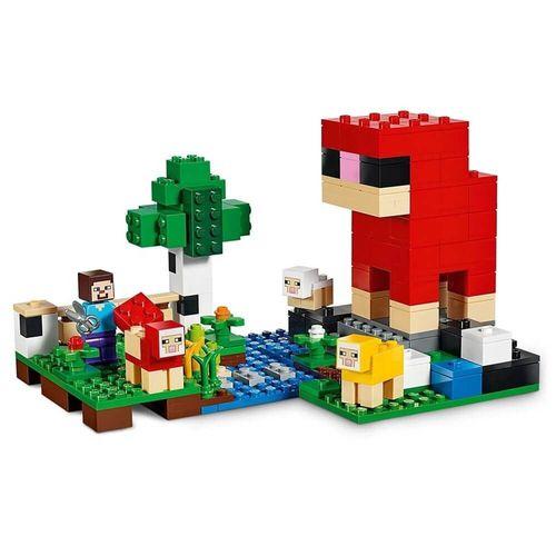 Lego Minecraft - A Fazenda de Lã - 21153