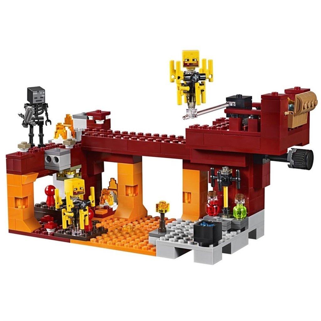 Lego Minecraft - Ponte Flamejante - 21154