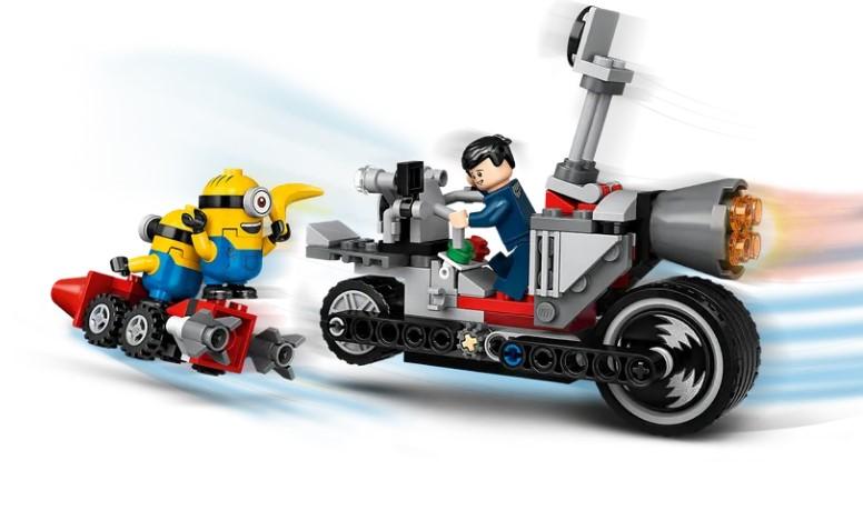Lego Minions - Perseguição de Moto sem fim - 136 Peças - 75549