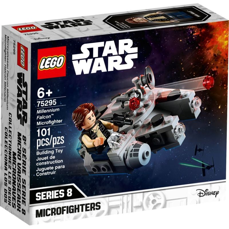 Lego Star Wars - Microfighter Millennium Falcon - 101 Peças - 75295