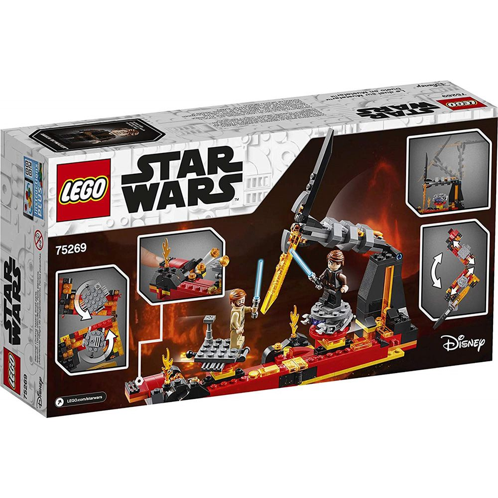 Lego - Star Wars - Obi-Wan x Anakin - Duelo em Mustafar - 75269