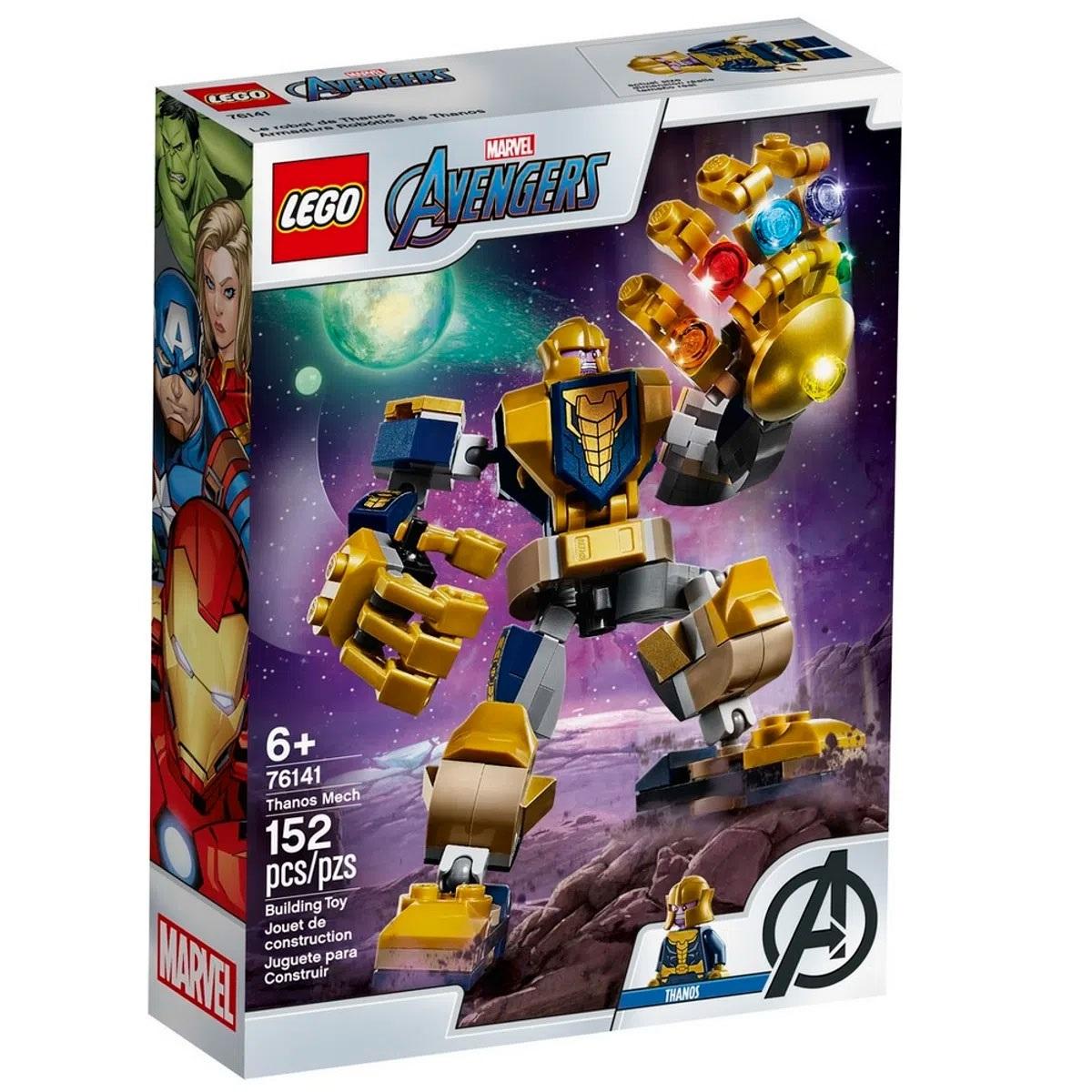 Lego Super Heroes - Marvel - Avengers - Robô Thanos - 152 Peças - 76141