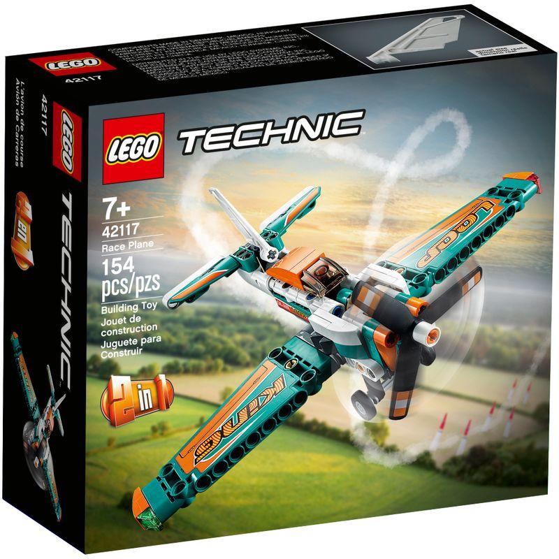 Lego Technic - Avião de Corrida - 154 Peças  - 42117