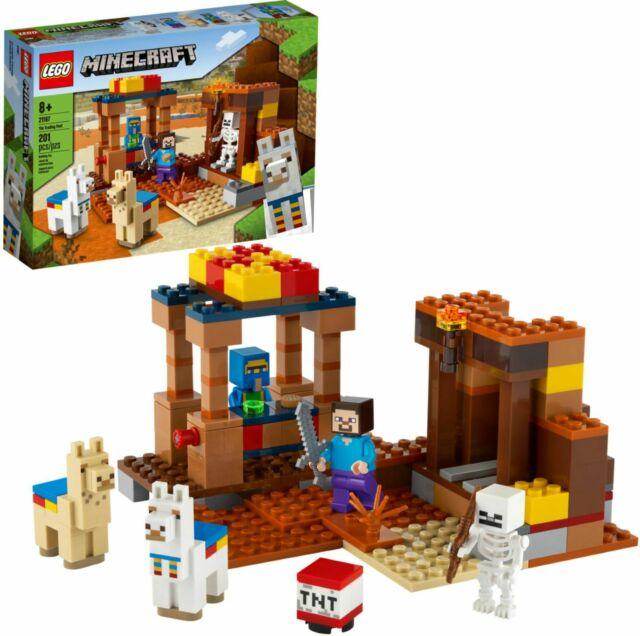 Lego Minecraft - O Posto Comercial - 201 peças - 21167