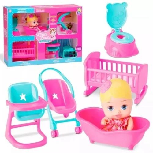 Little Dolls - Casinha - Diver Toys