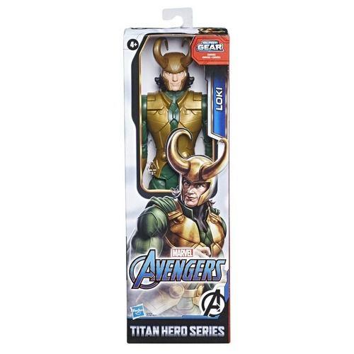 Loki - 30 cm - Vingadores - Gear Blast - Hasbro