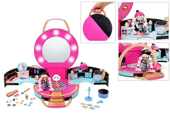 LOL Surprise - Hair Salon - Salão de Beleza - 50 Surpresas - Candide