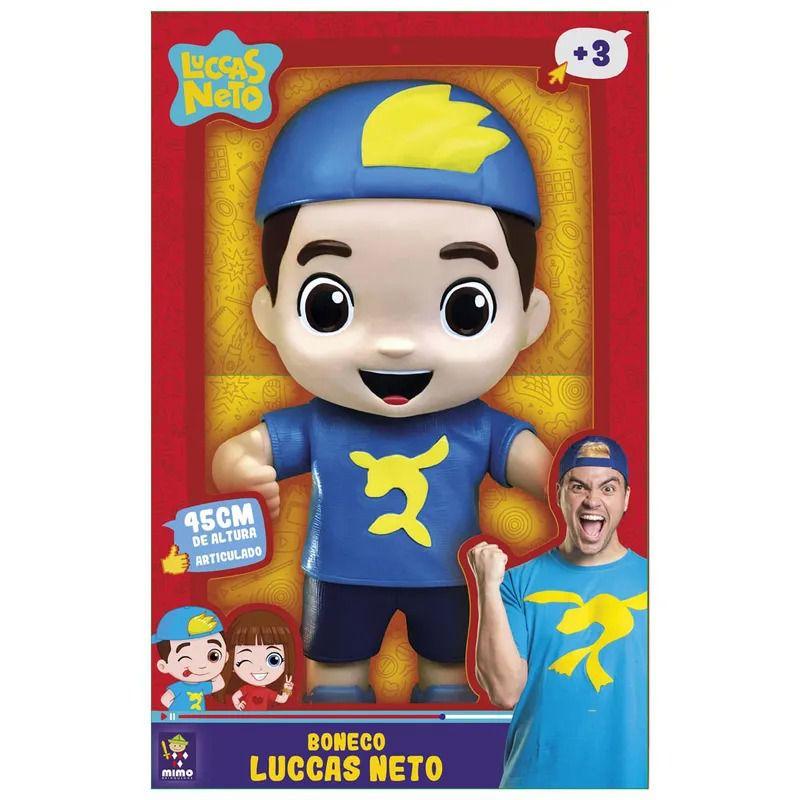 Luccas Neto Gigante - 45cm Articulado -  Mimo