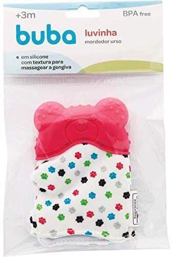 Luvinha Mordedor de Silicone - Urso - Rosa - Buba