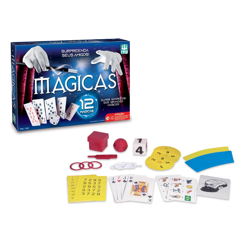Kit de Mágicas - Nig Brinquedos