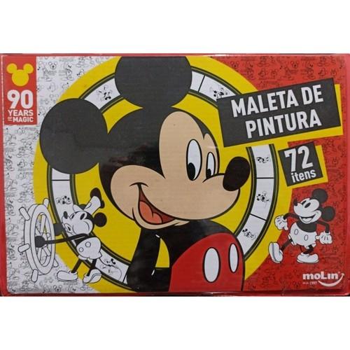 Maleta De Pintura - Mickey - 72 Peças - Molin