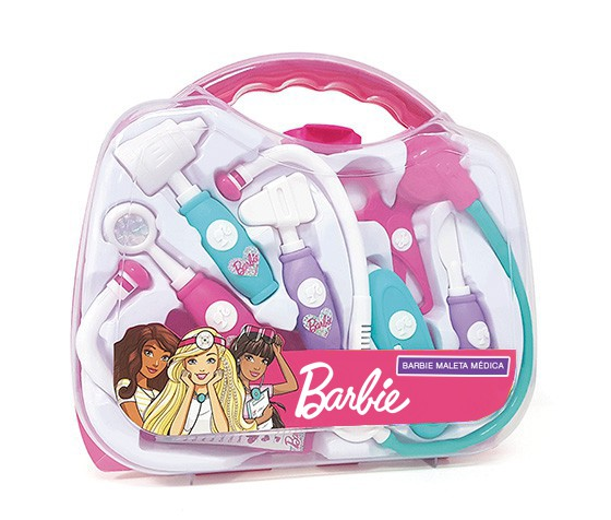 Kit de Médico - Maleta Médica - Barbie - Fun