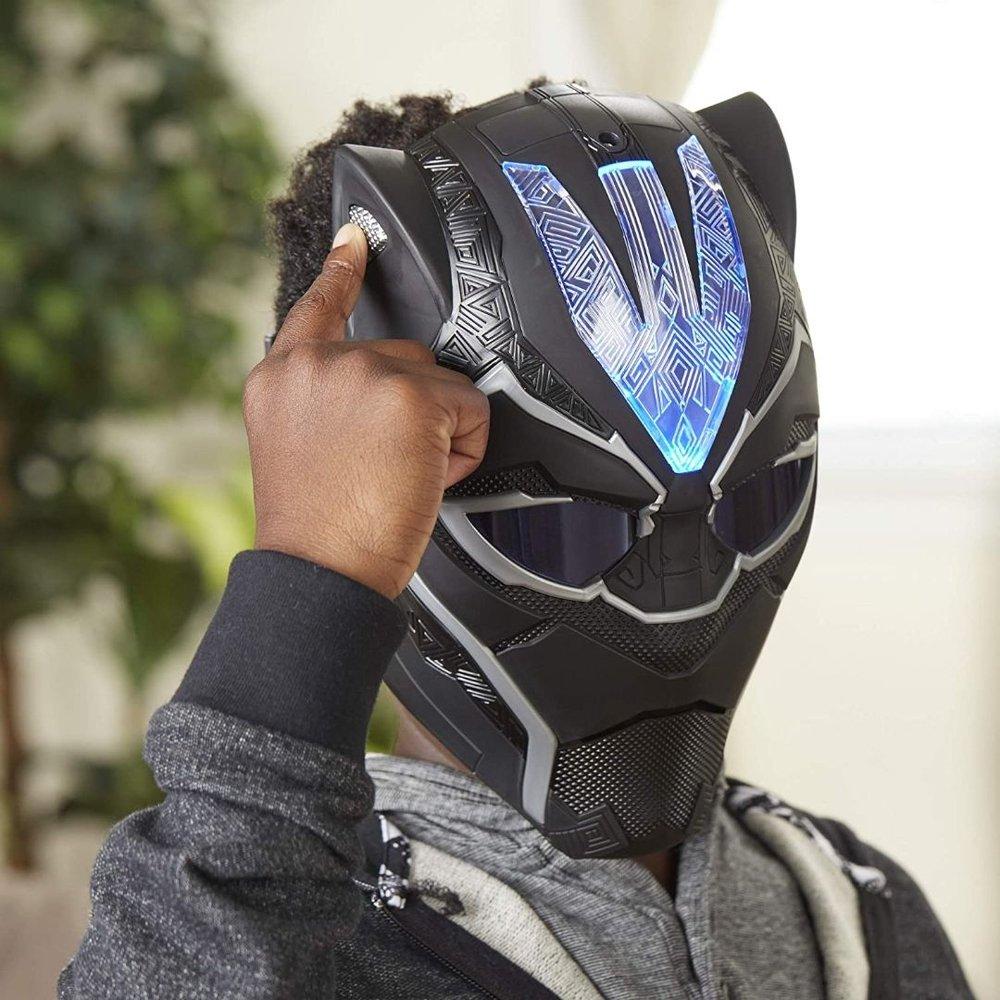 Máscara Eletrônica - Pantera Negra - Luminosa - Hasbro
