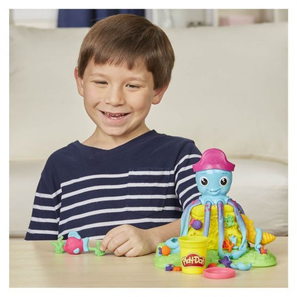 Massinha Play-Doh - Polvo Divertido - Hasbro