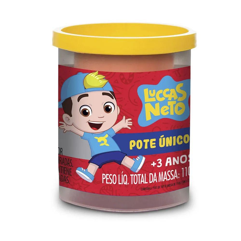 Massinha Super Massa Pote Único Luccas Neto - Estrela