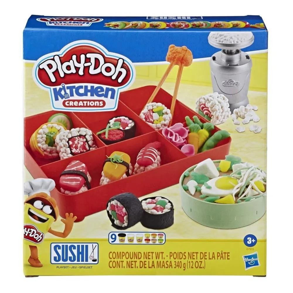 Massa de Modelar Play-Doh - Kitchen Creation - Sushi - Hasbro