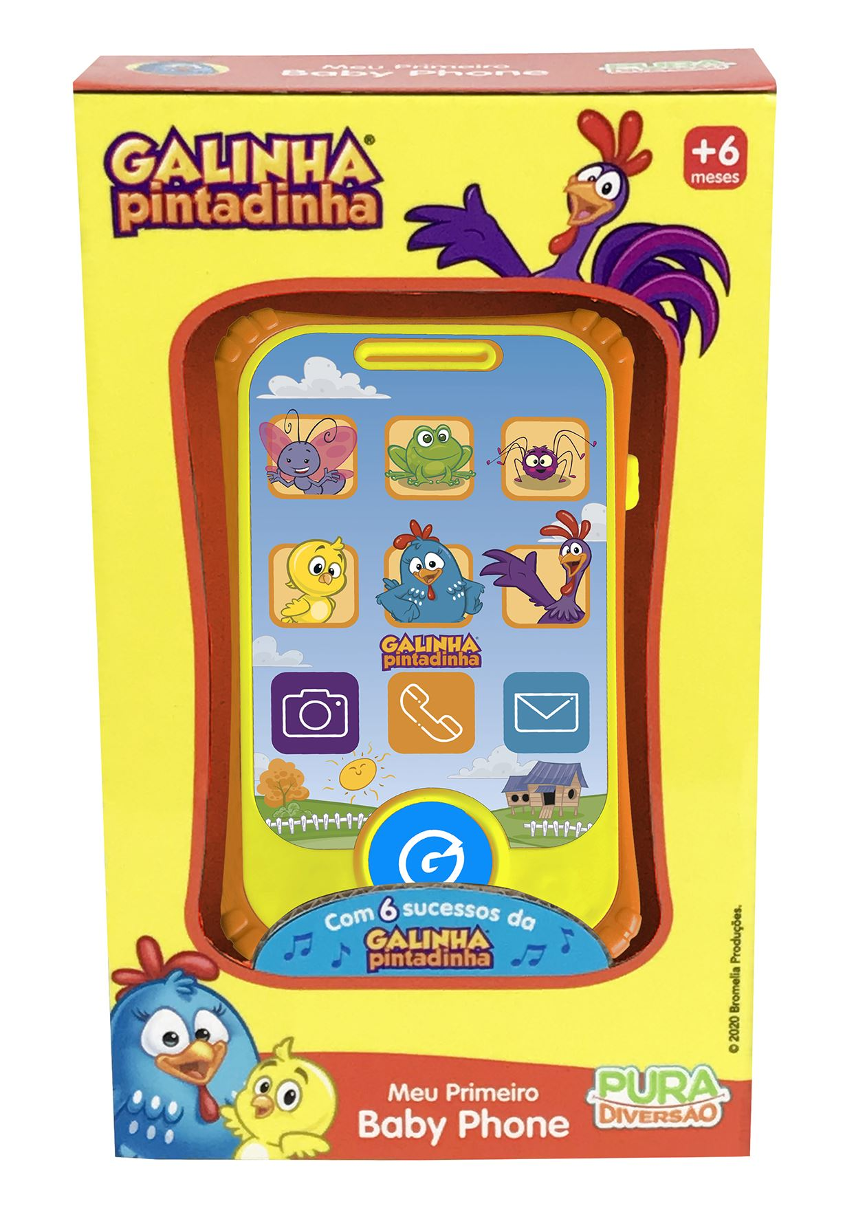 Meu Primeiro Baby Phone - Galinha Pintadinha - Yes Toys