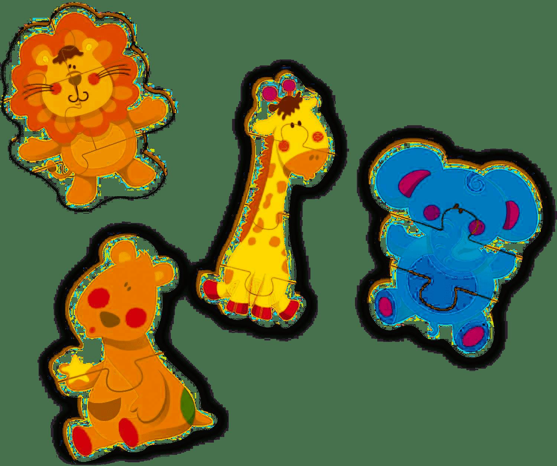 Meu Primeiro Quebra-Cabeça - 14 Peças - Brincadeira de Criança