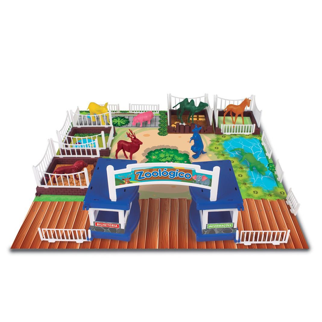 Meu Zoológico - 43 peças - Nig Brinquedos