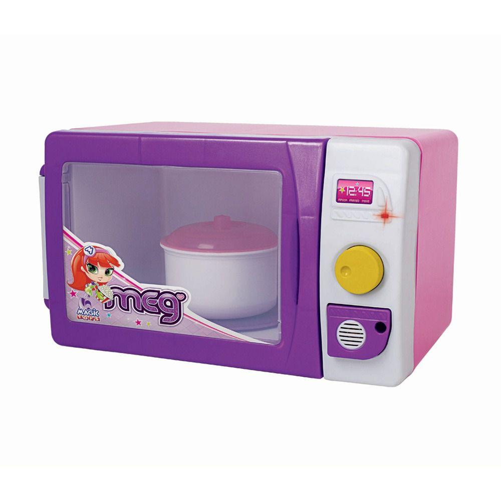 Micro-ondas Infantil Meg - Com Luz e Som - Magic Toys