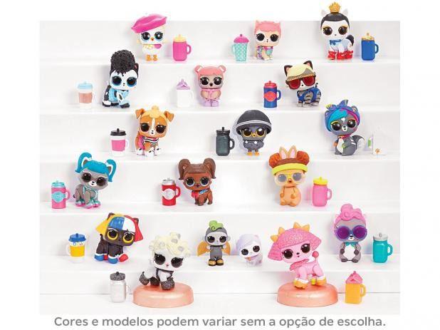Mini Boneca Surpresa - LOL Surprise - Fuzzy Pets - 7 Surpresas - Candide