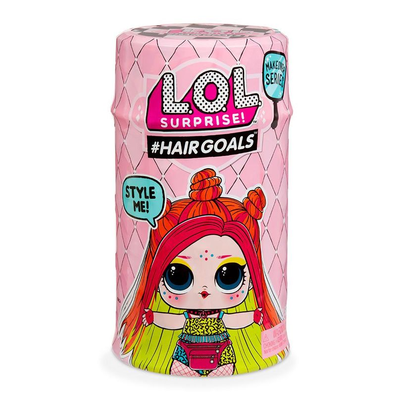 Mini Boneca Surpresa - LOL Surprise - Hairgoals - 15 Surpresas - Candide