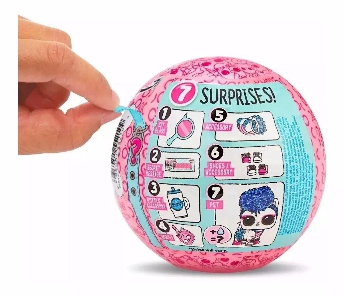 Mini Boneca Surpresa - LOL Surprise - Pets - Série Eye Spy – Candide