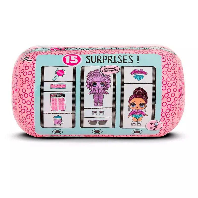 Mini Boneca Surpresa - LOL Surprise - Underwrap Surprise - 15 Surpresas - Candide