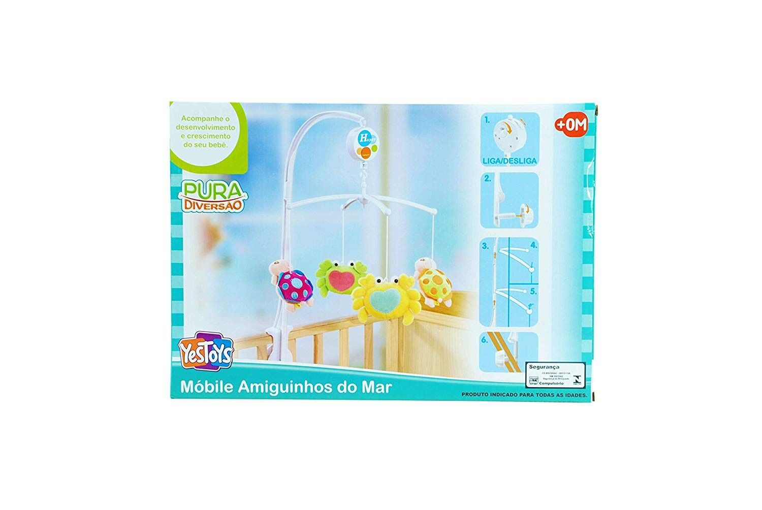 Móbile Amiguinhos Do Mar - YesToys