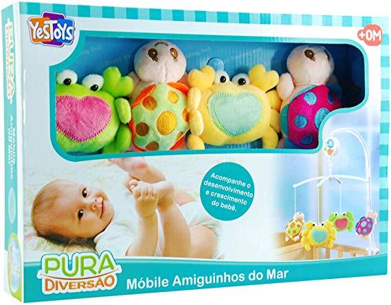 Móbile Amiguinhos Do Mar - Yes Toys