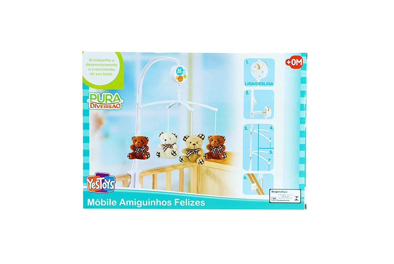 Móbile Amiguinhos Felizes - YesToys