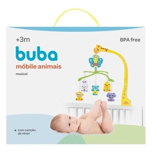 Móbile Musical - Animais - Buba
