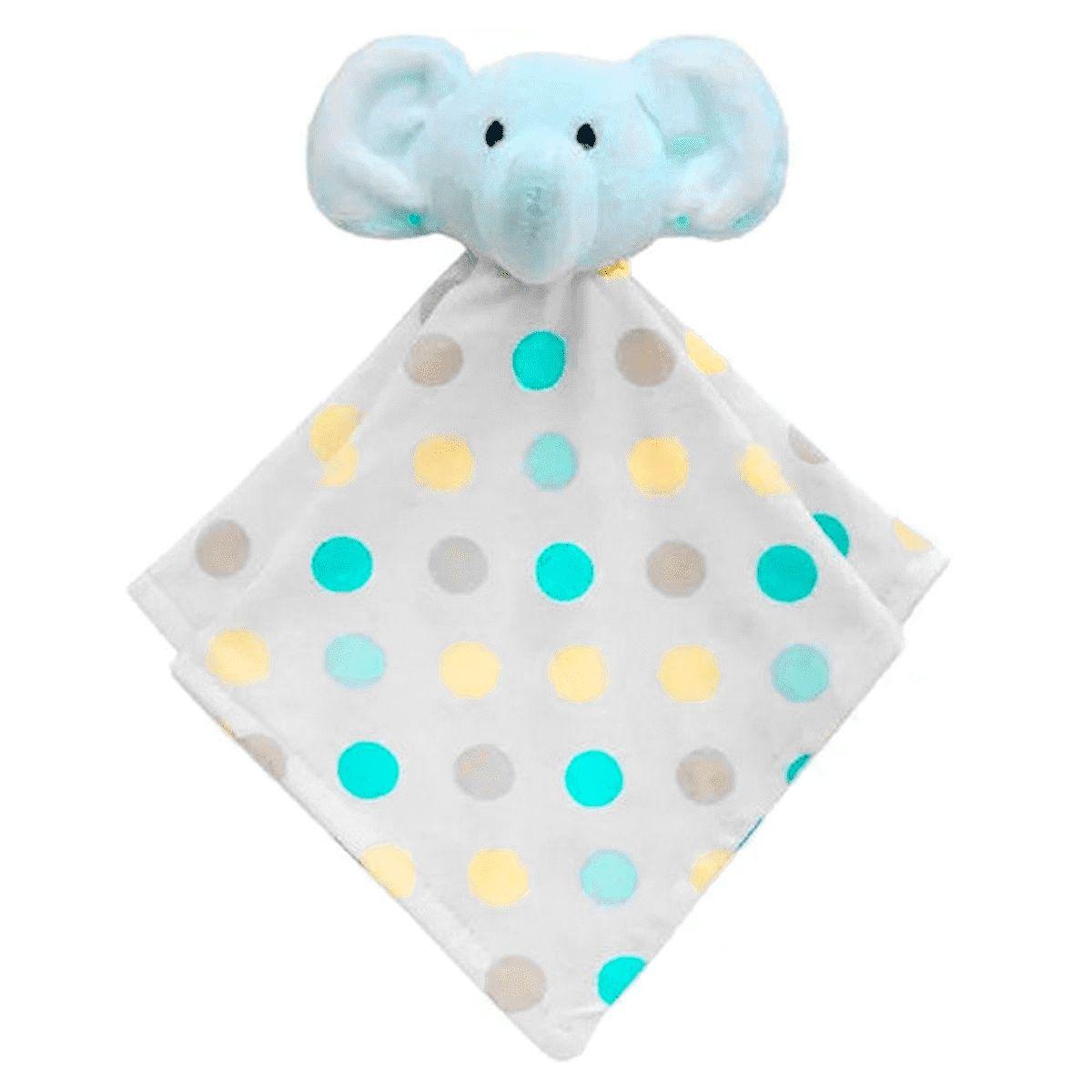 Naninha - Elefante Azul - Pelúcia - Doces Sonhos - Buba