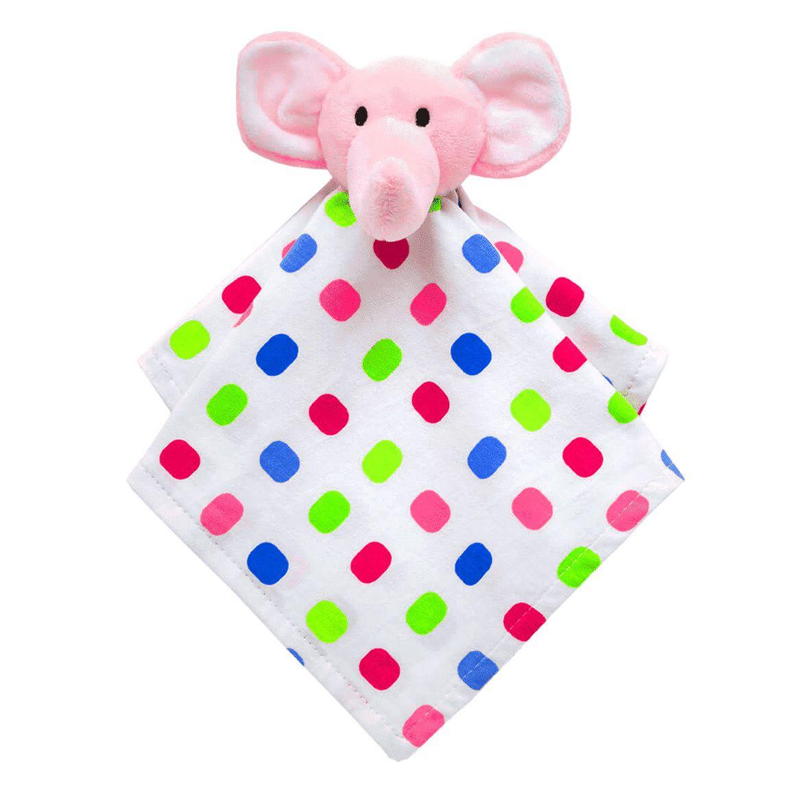 Naninha - Elefante Rosa - Pelúcia - Doces Sonhos - Buba