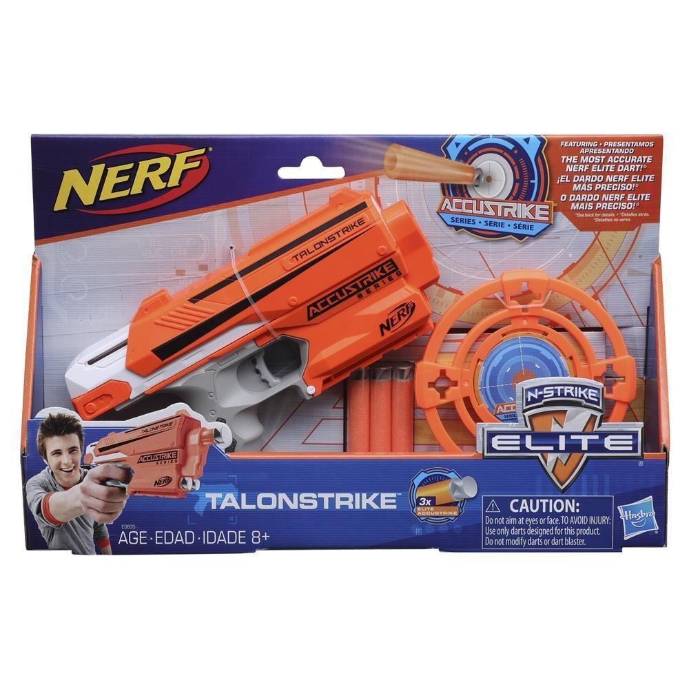 Lançador Nerf Com Alvo - N-Strike Elite - Talonstrike - Hasbro