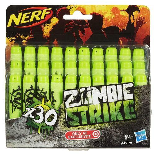Nerf Refil Zombie Strike com 30 Dardos - Hasbro