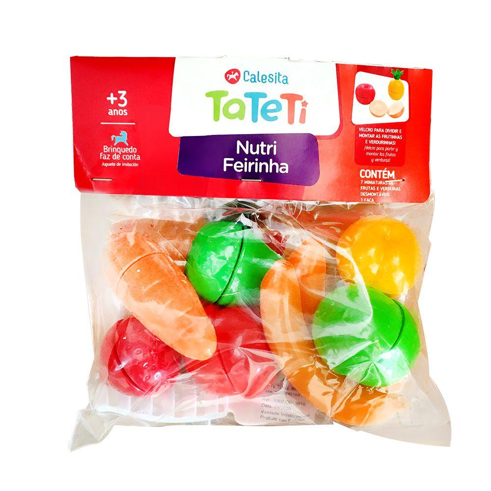 Nutri Feirinha - Frutas e Verduras que Encaixam - Calesita