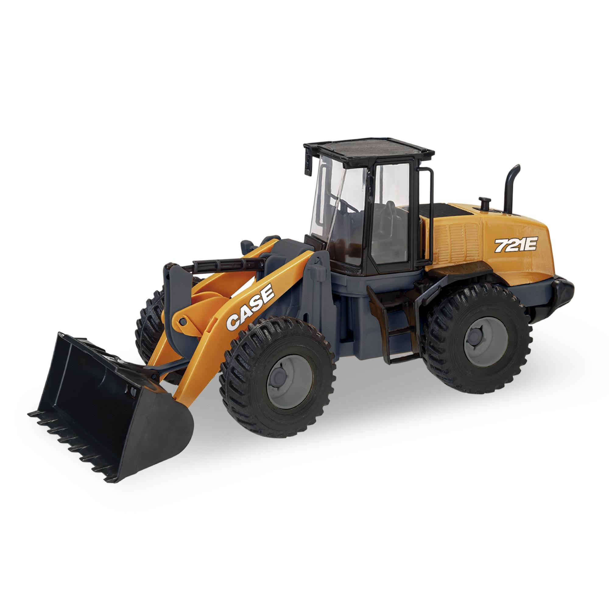 Trator Pá Carregadeira 721E - Case Construction - Usual Brinquedos