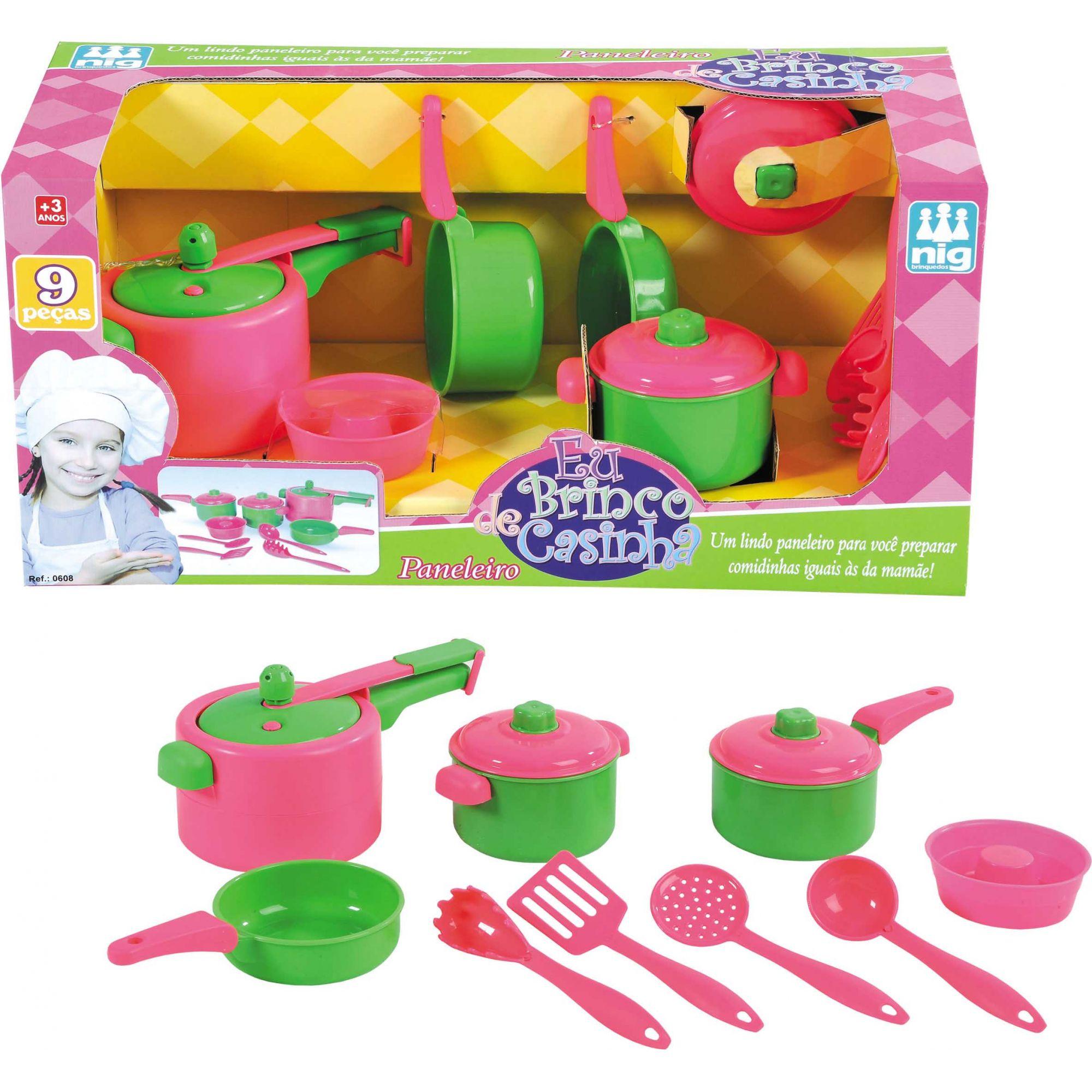 Paneleiro - Eu Brinco de Casinha - Nig Brinquedos
