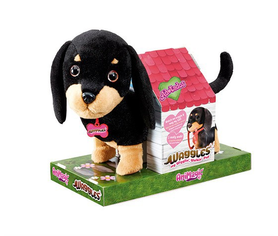Pelúcia Interativa - Adotados - Cachorro Salsichinha  - Fun