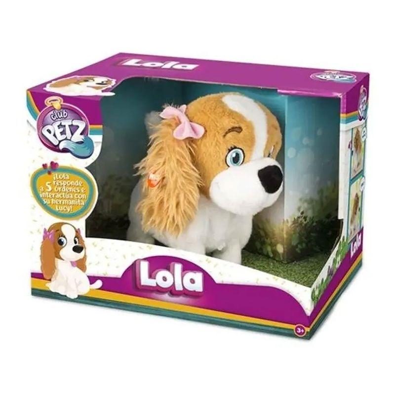 Pelúcia Interativa - Cachorrinha Lola - Multikids