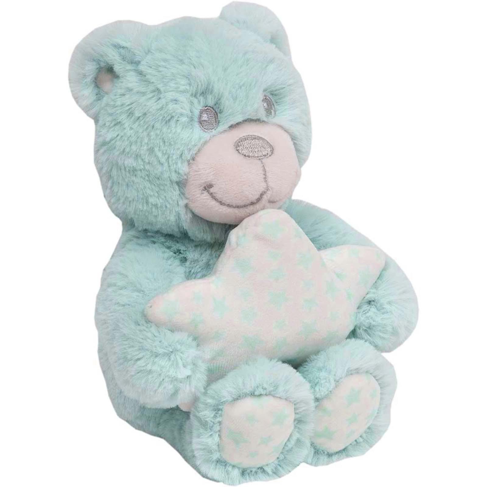 Pelúcia - Ursinho Star Azul - Buba