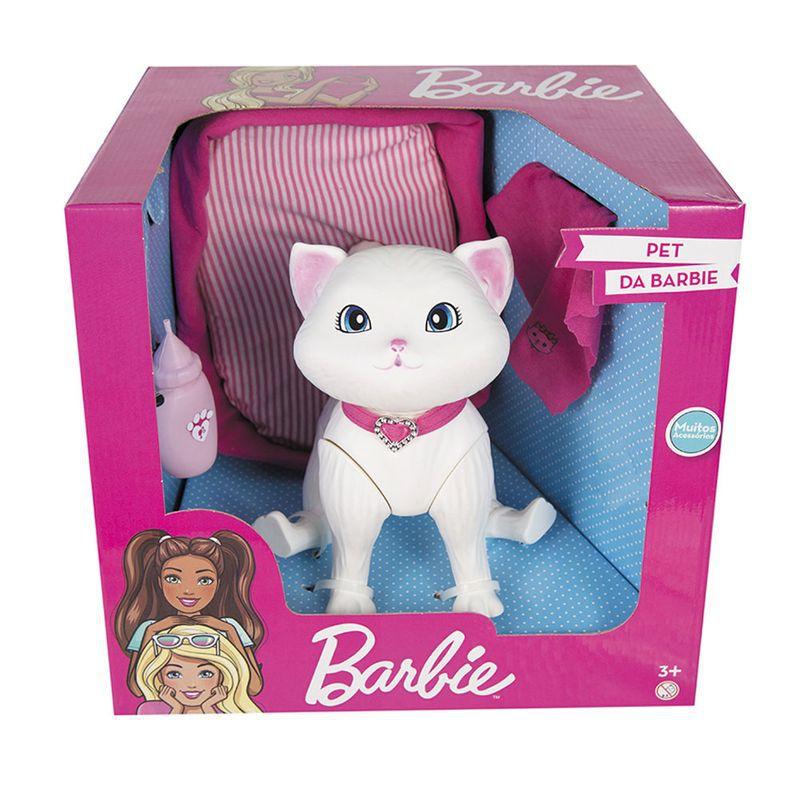Pet da Barbie - Cuidados com a Gatinha Blissa - Pupee