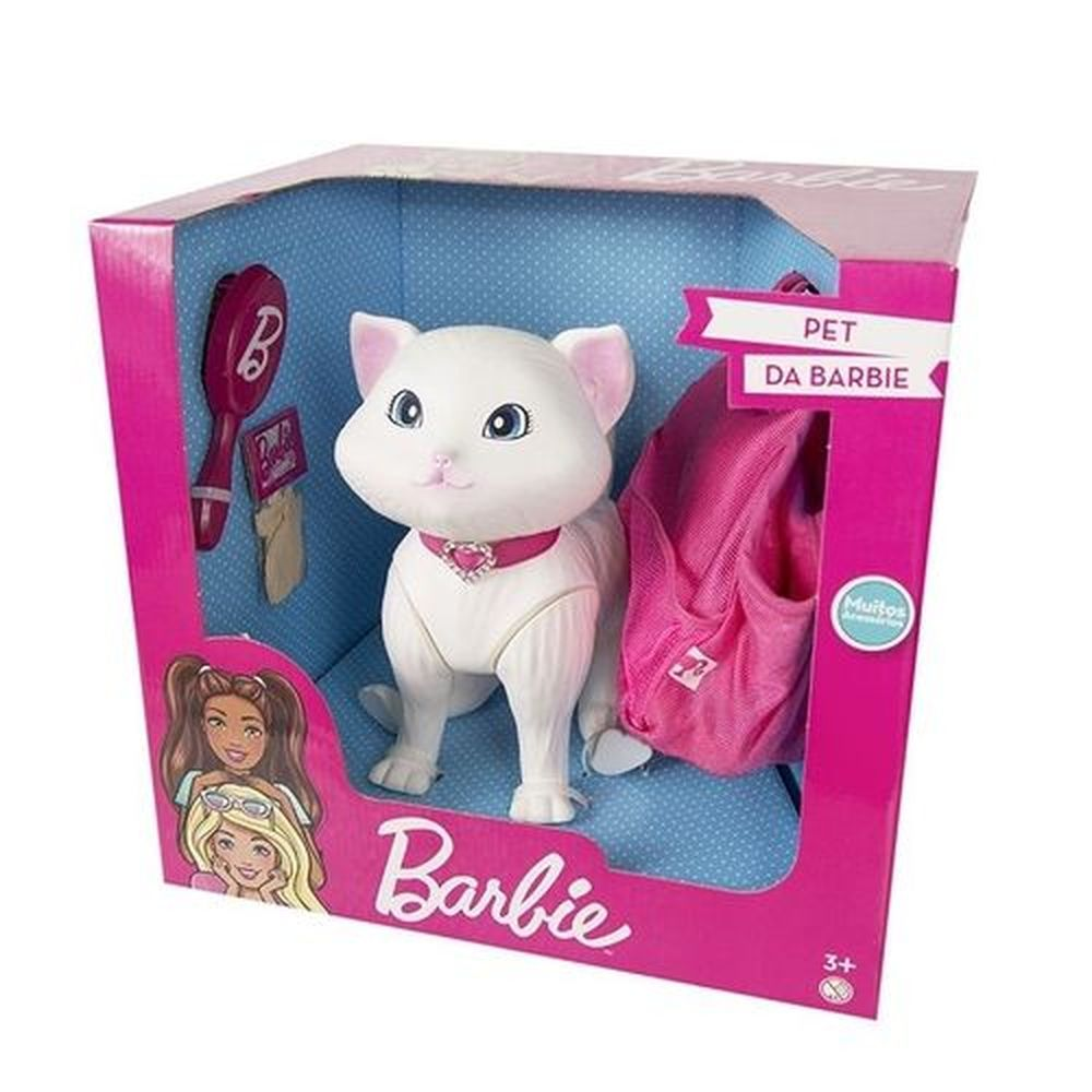 Pet da Barbie - Fashion  - Gatinha Blissa - Pupee