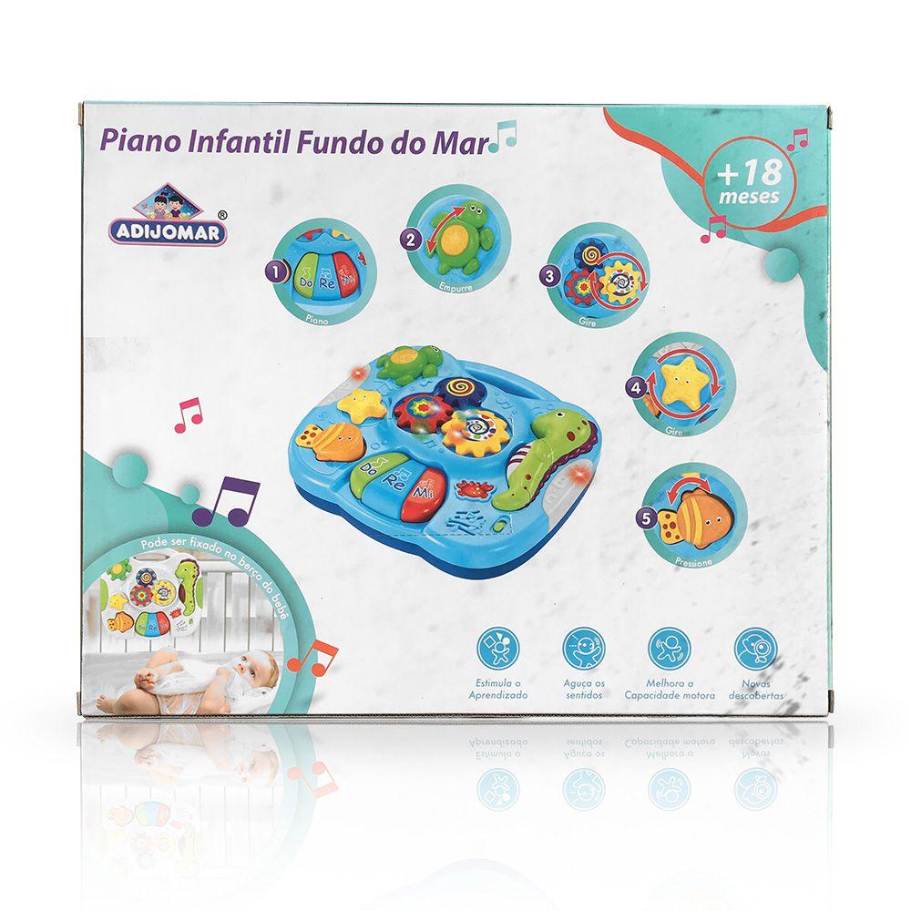Piano Infantil - Fundo do Mar - Adijomar