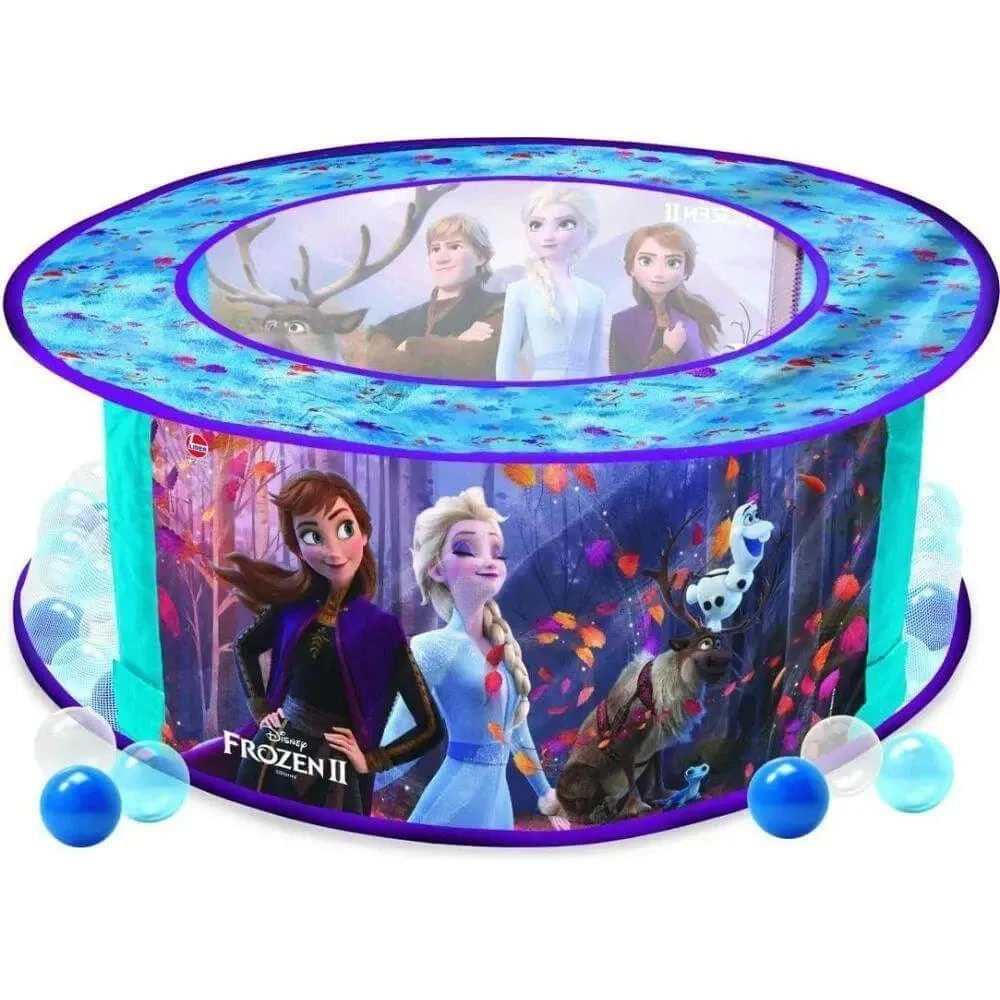 Piscina De Bolinhas - Frozen 2 - 100 Bolinhas - Lider