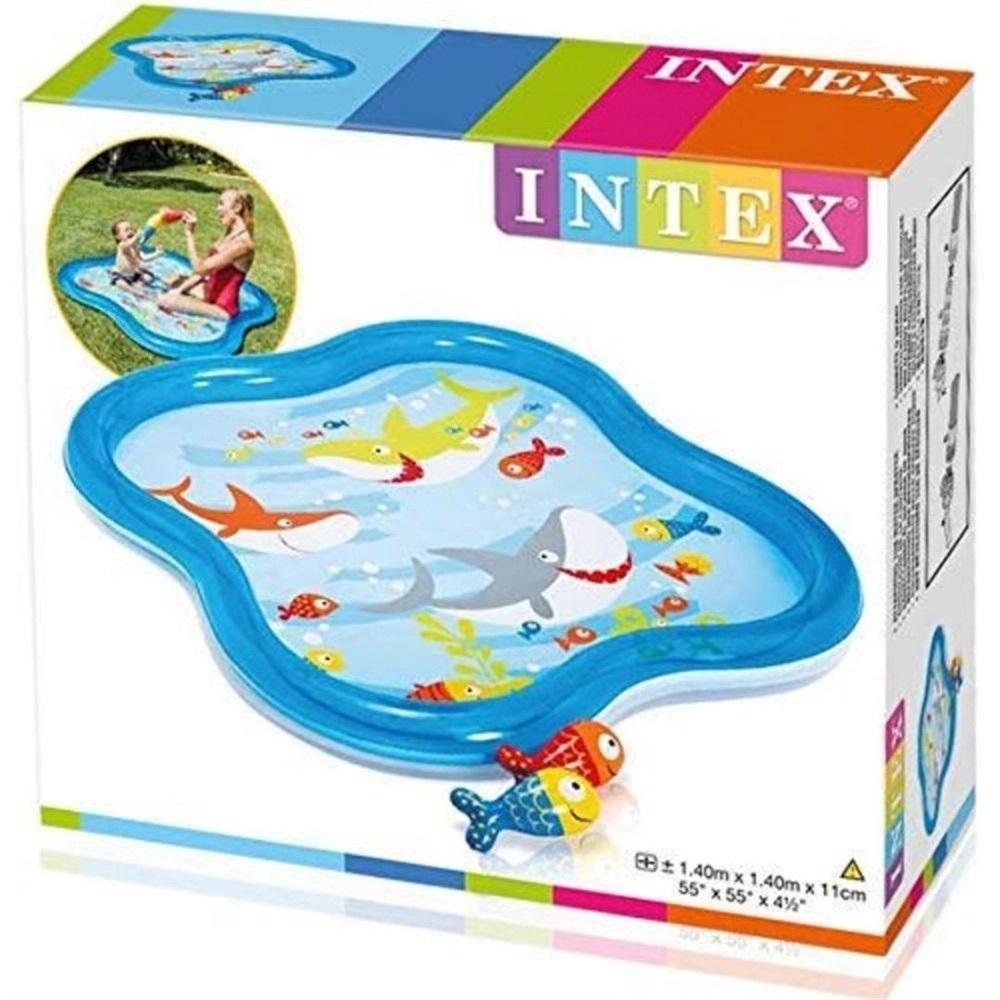 Piscina Infantil - Baby Esguicho Peixinhos - 115 Litros - Intex