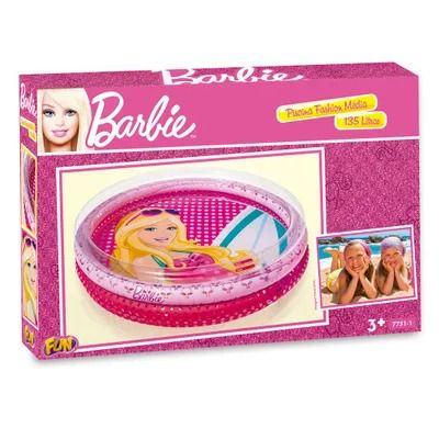 Piscina Infantil - Barbie Fashion - 135 Litros - Fun