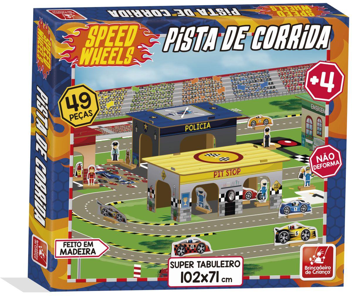 Pista de Corrida - Speed Wheels - Brincadeira de Criança