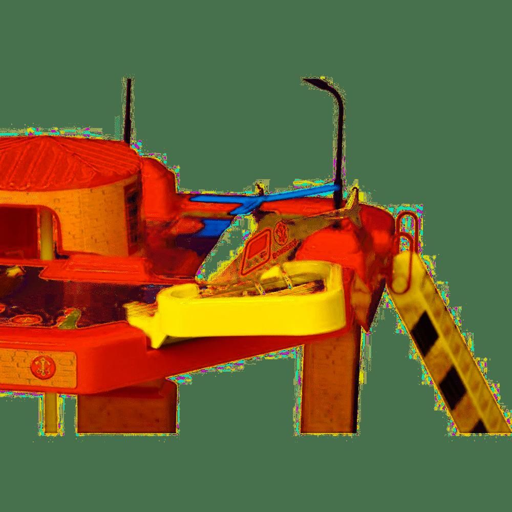 Pista de Percurso - Corpo de Bomberos - 3 Veículos - Maptoy